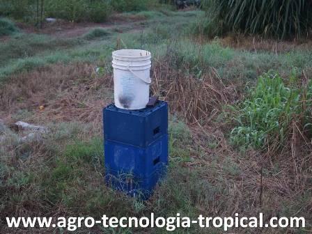 El cuñete se usa para medir la evaporacion y la precipitacion